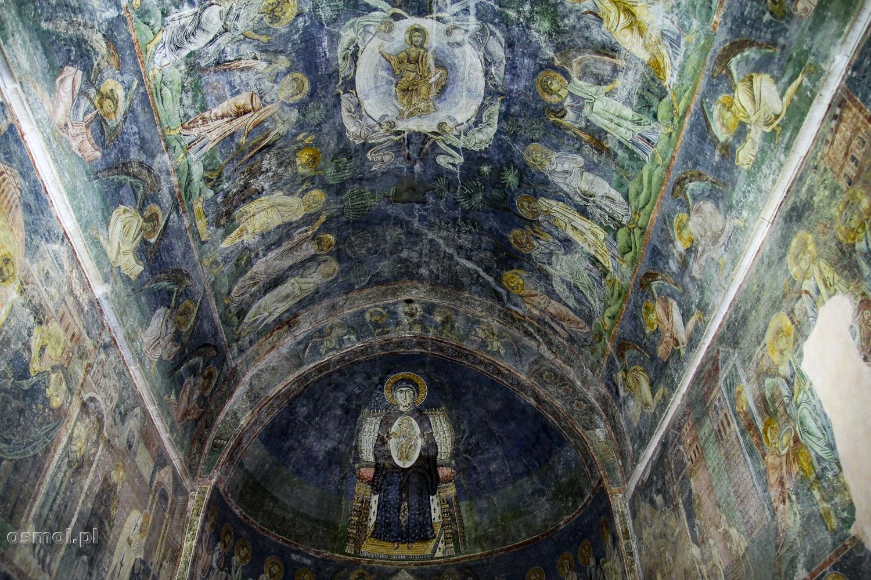 Wnętrze i freski kościoła św. Zofii w Ochrydzie