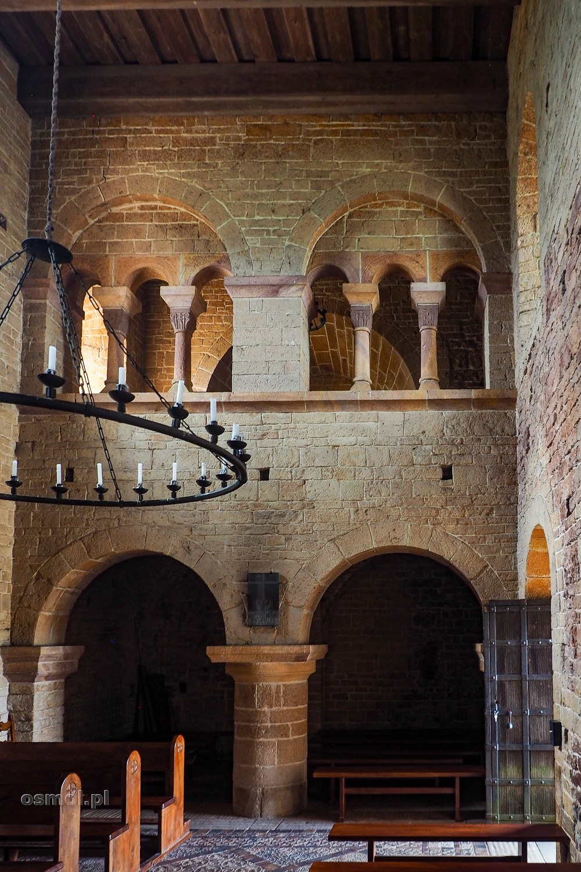 Wnętrze kościoła świętego Idziego w Inowłodzu