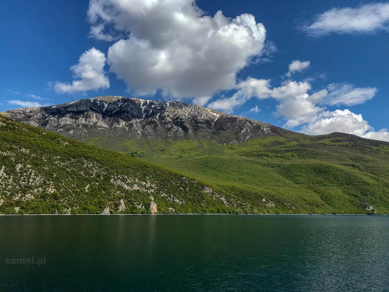 Góry nad jeziorem Ochrydzkim
