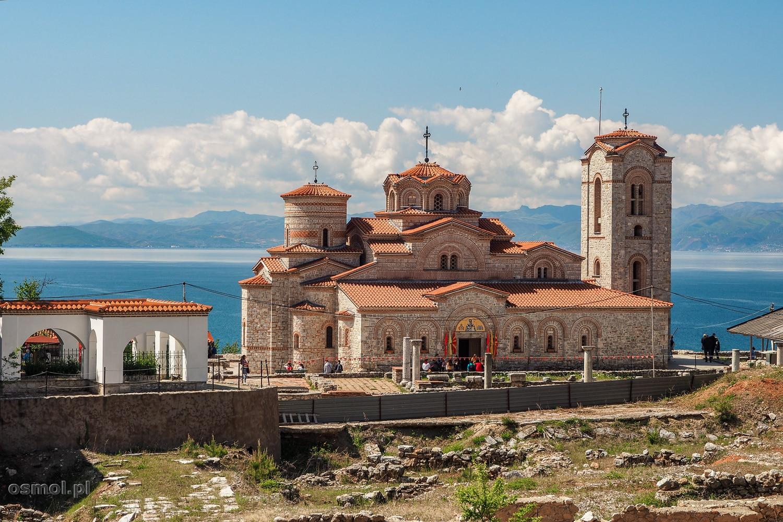 Plaosnik - cerkiew św. Pantelejmona w Ochrydzi