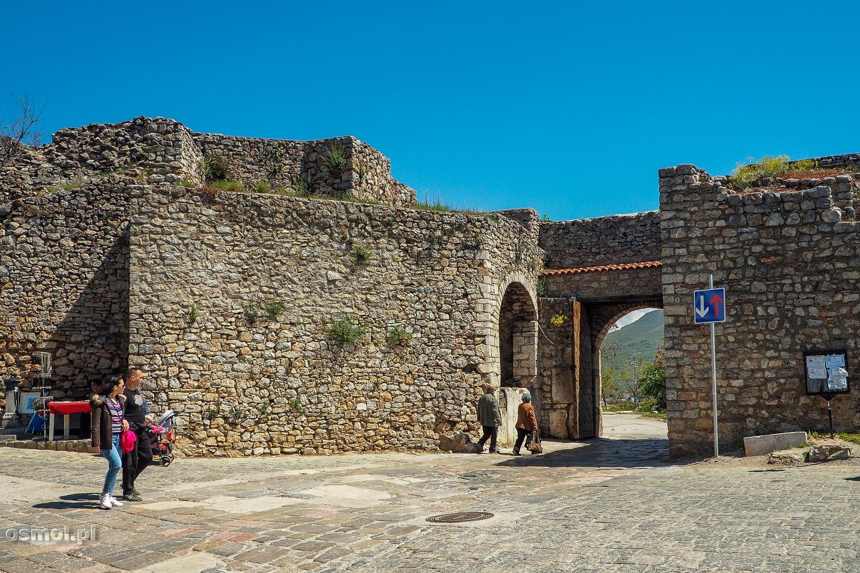 Górna Brama - jedna z bram wjazdowych do Ochrydy