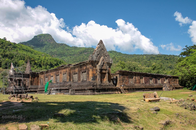 Ruiny świątyni w Champasak - Laos