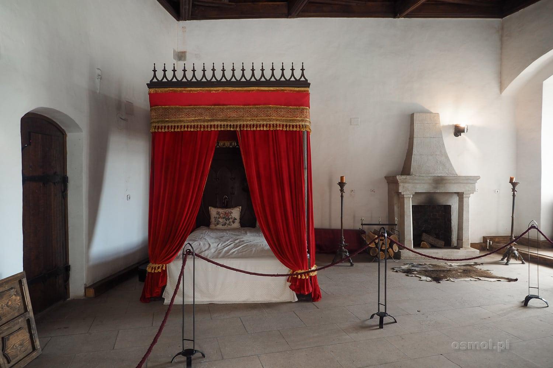 Komnaty na zamku w Hunedoarze