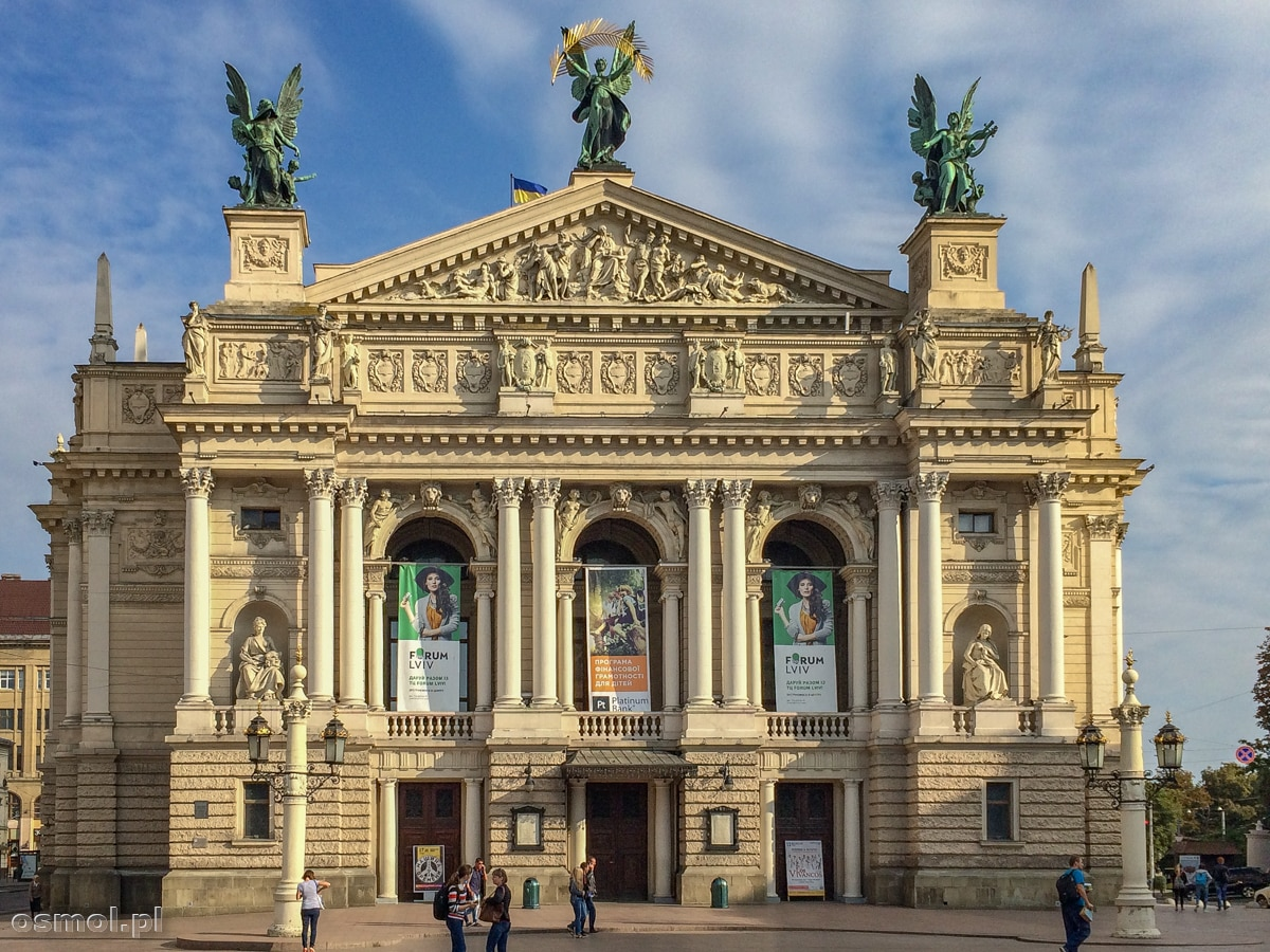 Lwów. Gmach Opery czyli jednego z symboli miasta