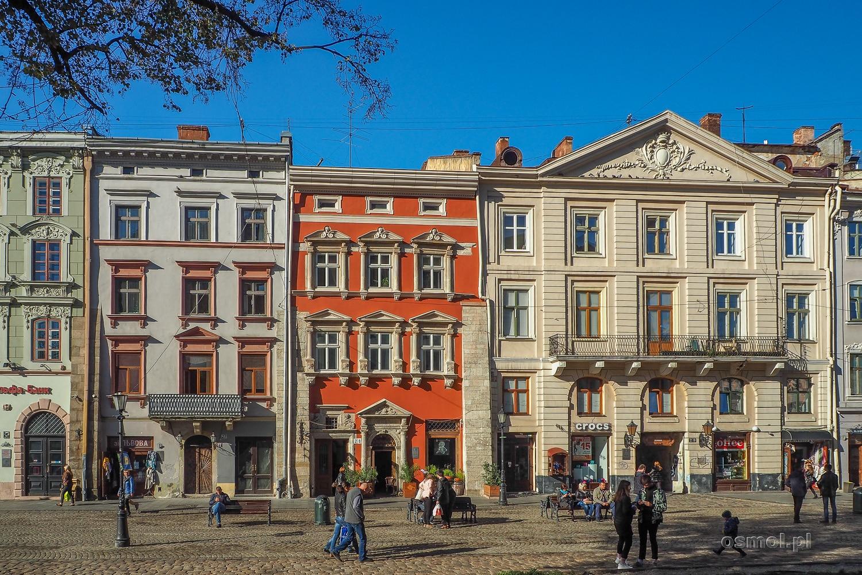 Kamienice na Rynku we Lwowie