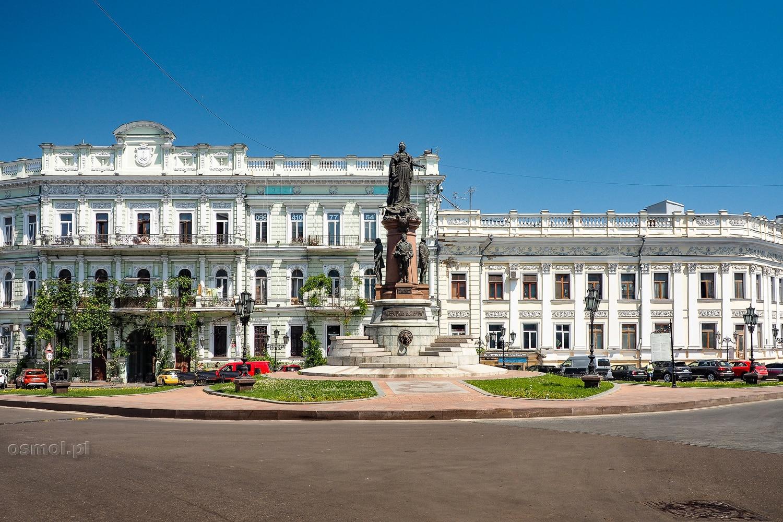 Pomnik carycy Katarzyny II w Odessie