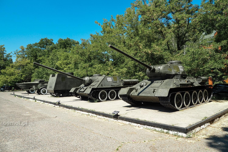 Czołg T-34 w Muzeum Bohaterskiej Obrony Odessy