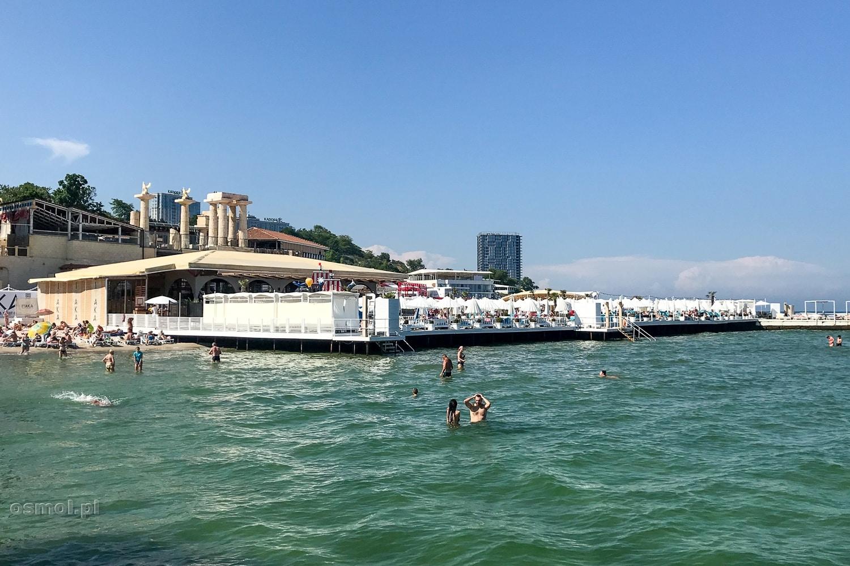 Kluby na plaży Arkadia w Odessie