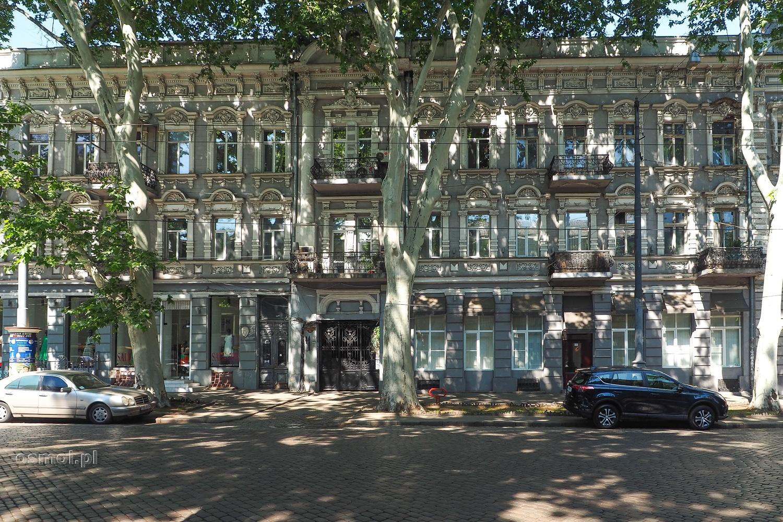 Dom na ulicy w Odessie