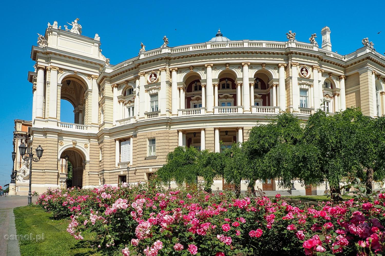 Widok na operę w Odessie