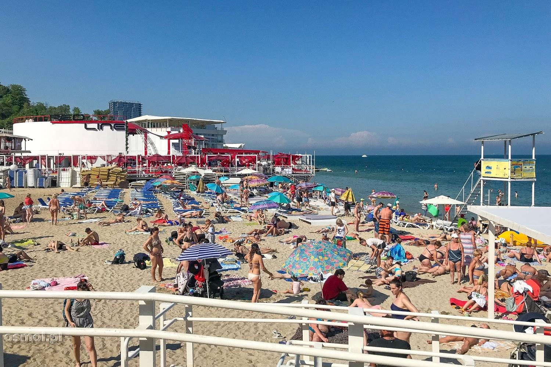 Odessa - plaża Arkadia.