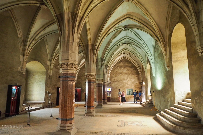 Sala Rady na zamku w Hunedoarze