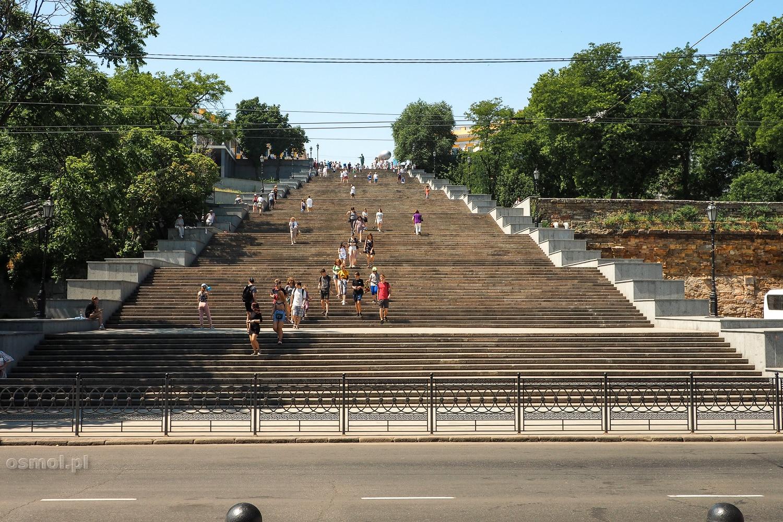 Schody Potiomkinowskie w Odessie