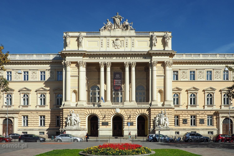 Uniwersytet Tarasa Szewczenki we Lwowie, dawny budynek Sejmu Galicyjskiego.