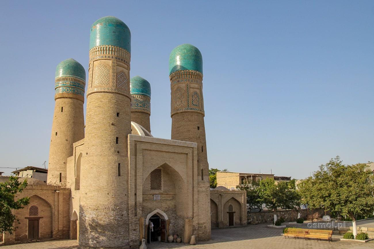 Meczet Chor Minor w Bucharze - Uzbekistan