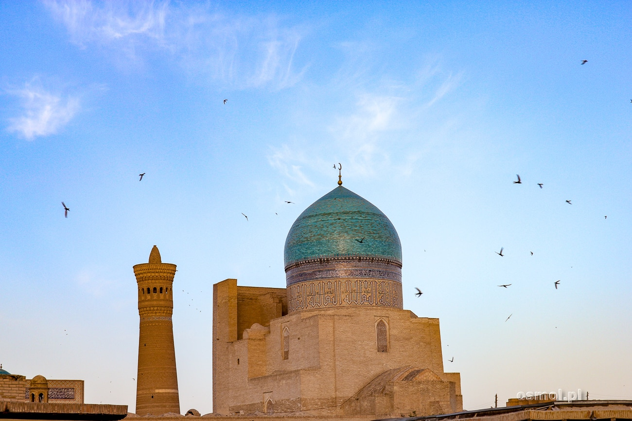 Kopuła meczetu w Bucharze - Uzbekistan
