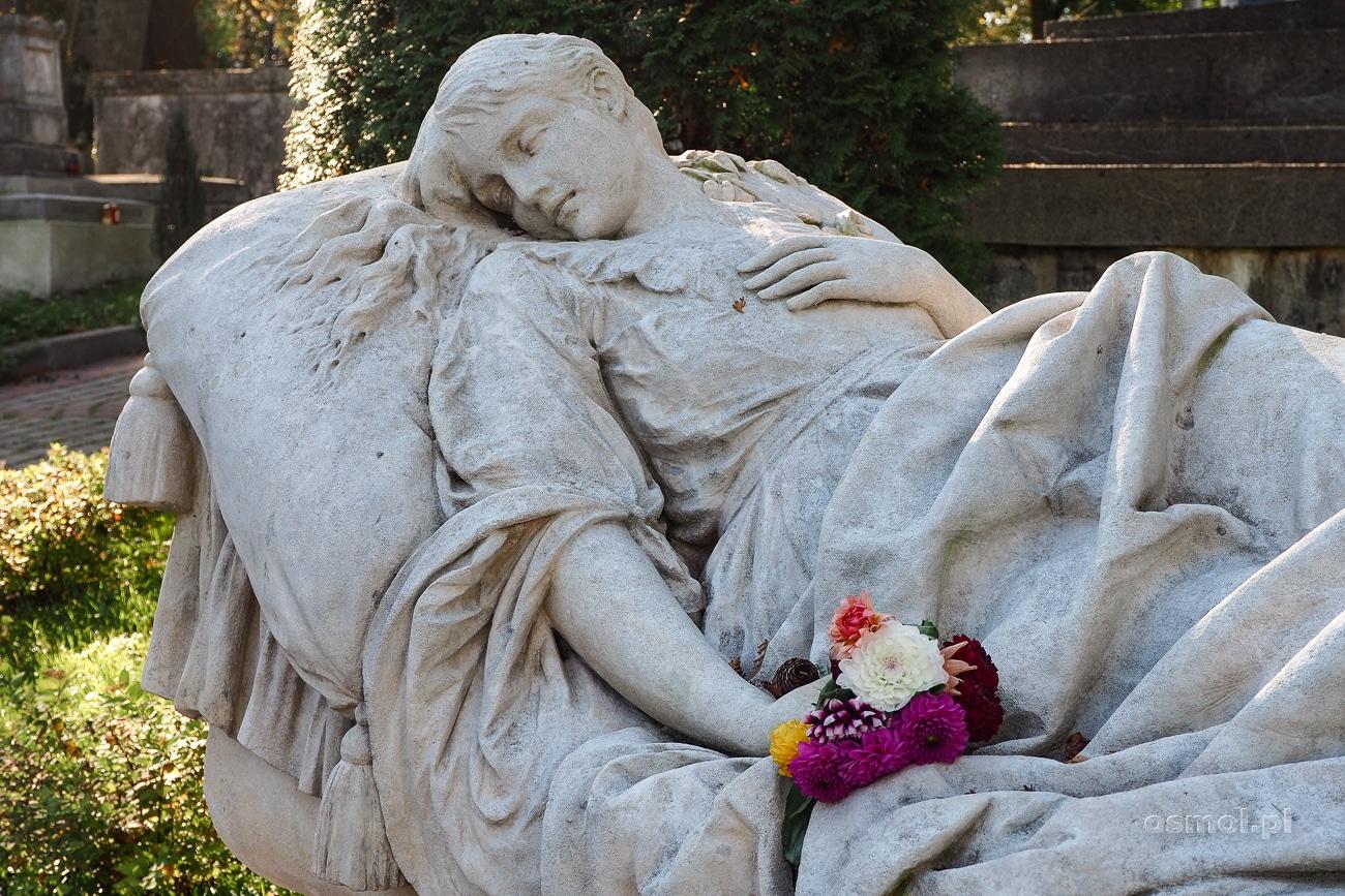 Grób Katarzyny Markowskiej na cmentarzu Łyczakowskim we Lwowie