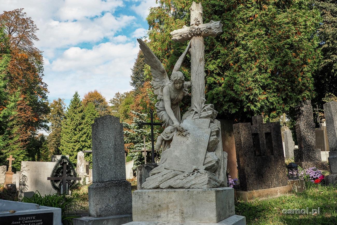Grób Joanny Antoniny Skrupciow na Cmentarzu Łyczakowskim we Lwowie