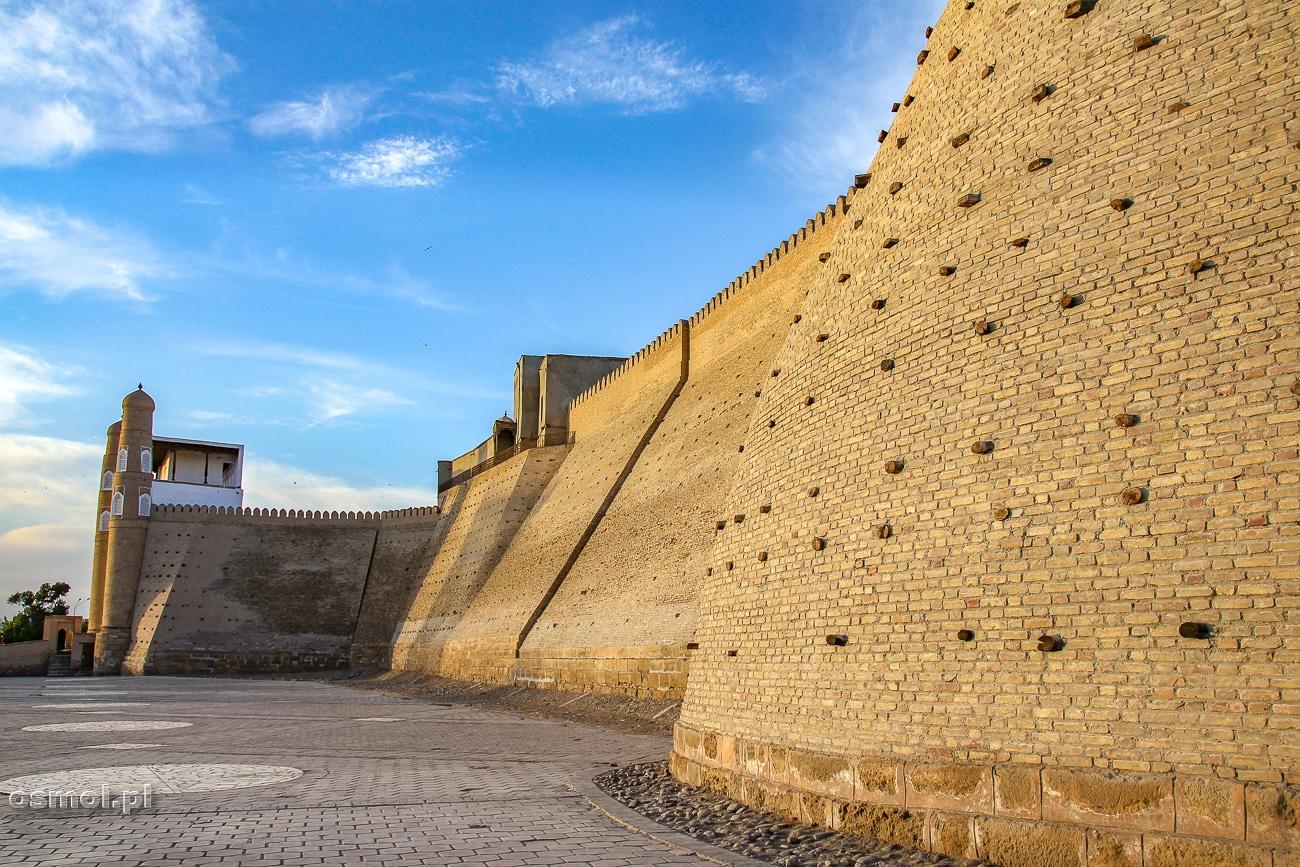 Arch czyli forteca i pałac w jednym - jedna z największych atrakcji Buchary w Uzbekistanie