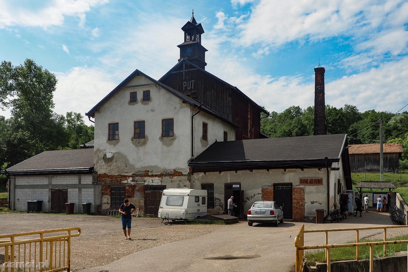 Budynek kopalni soli Kaczyka (Cacica) w Rumunii
