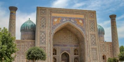 Kompleks Registan w Samarkandzie - Uzbekistan