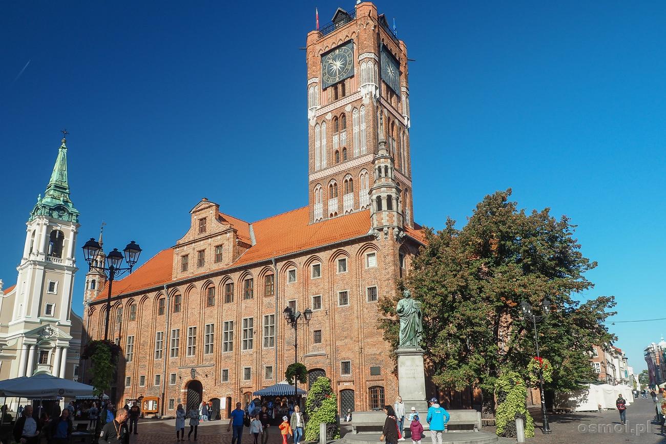 Ratusz w Toruniu - dawniej urzędował tu burmistrz, dziś to siedziba muzeum