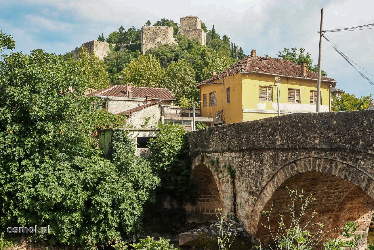 Most i zamek w Stolac - Bośnia i Hercegowina