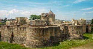 Ruiny zamku w Suczawie