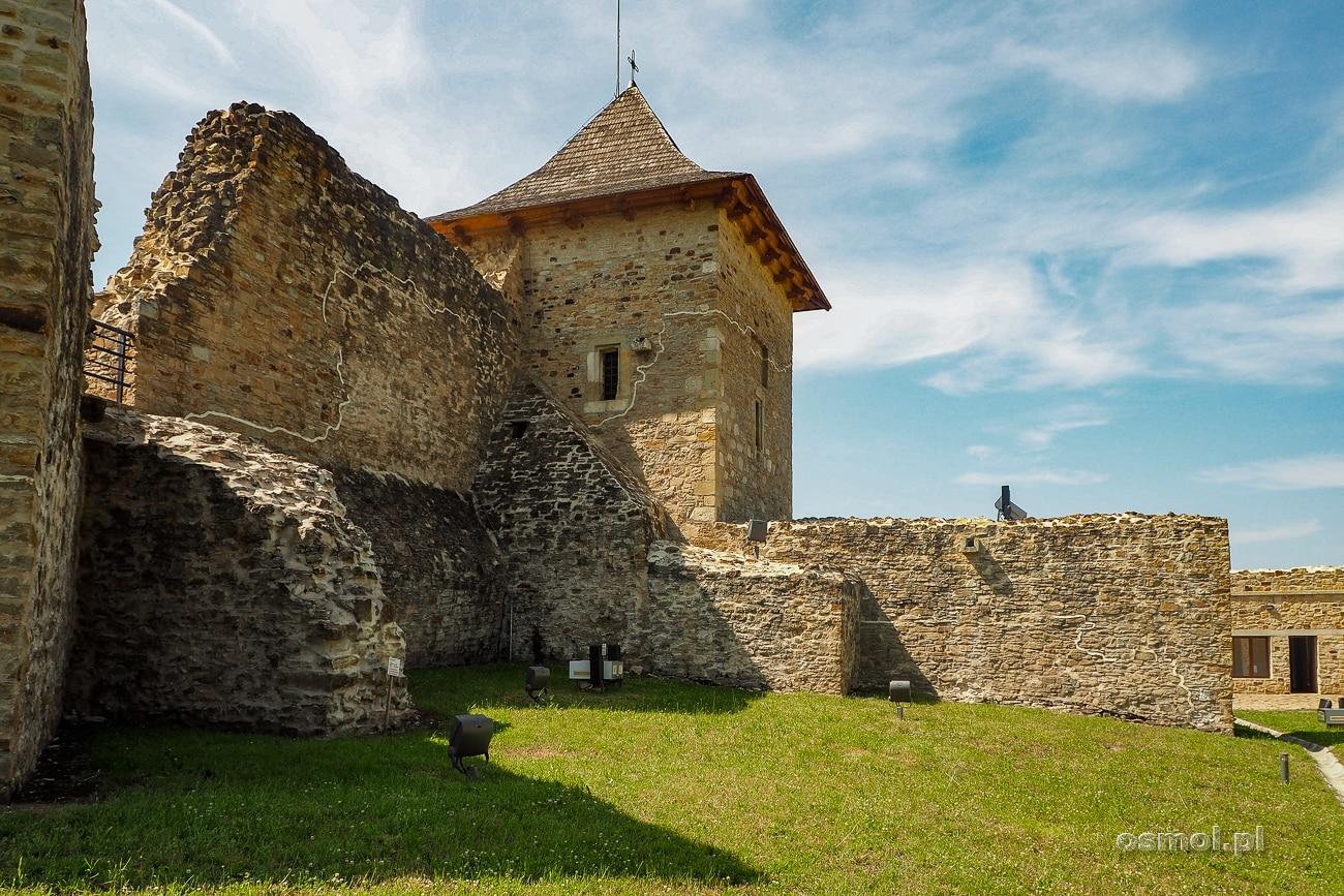 Wieża i ruiny zamku w Suczawie