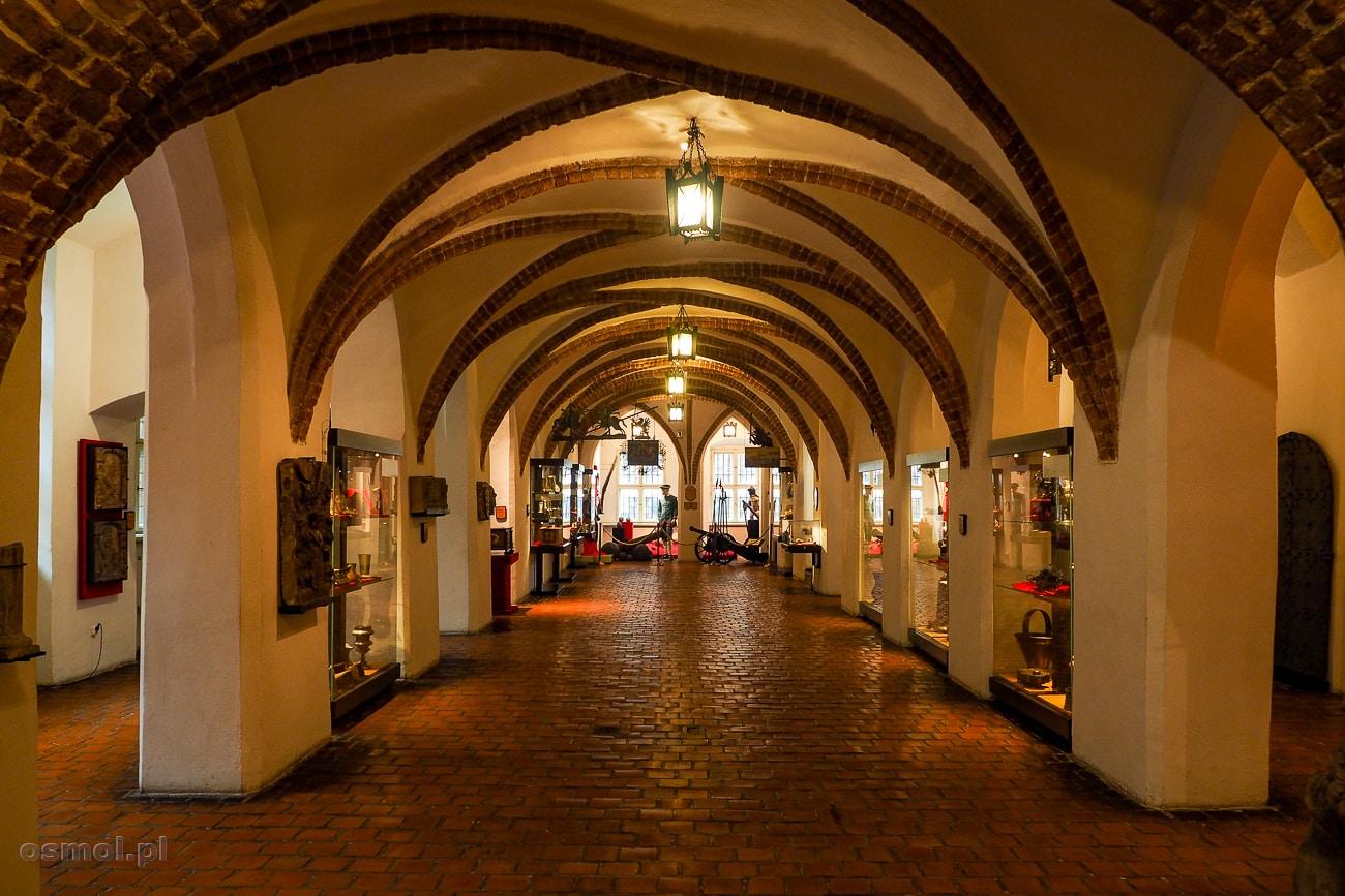 Jedna z sal wystawowych w Muzeum Okręgowym W Toruniu