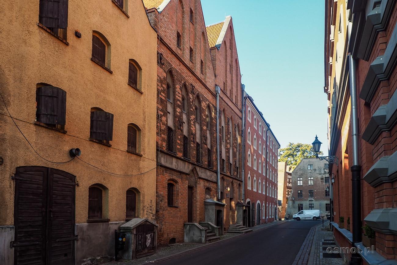 Dawne spichlerze - Toruń