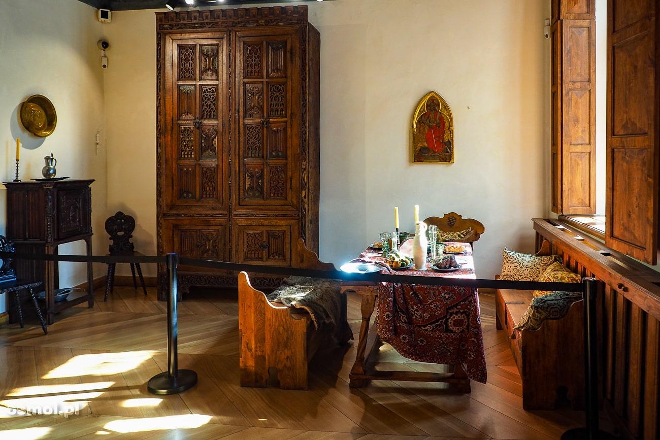 Jadalnia w domu Mikołaja Kopernika