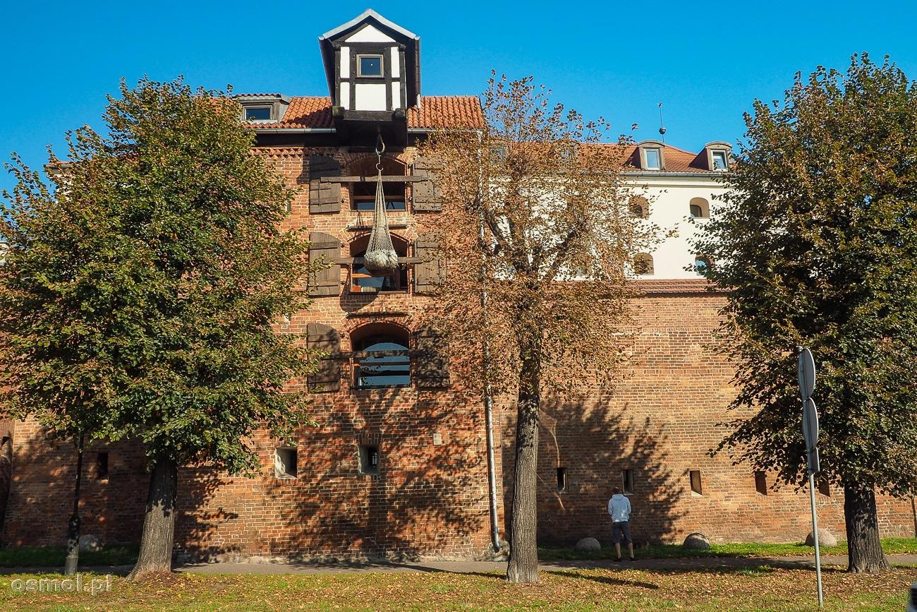 Zabytkowy żuraw w Toruniu