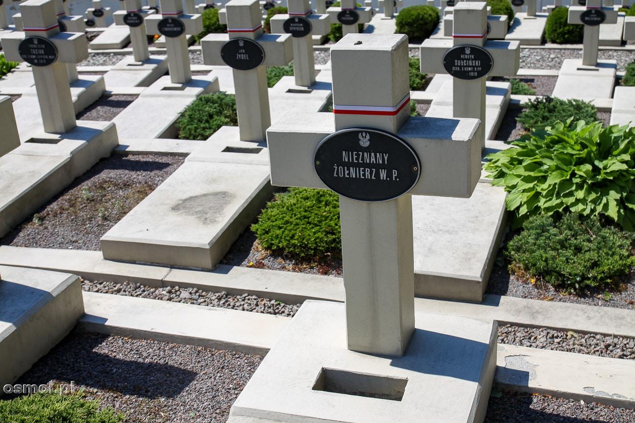 Groby na Cmentarzu Orląt Lwowskich. Część z nich na zawsze pozostanie bezimienna.