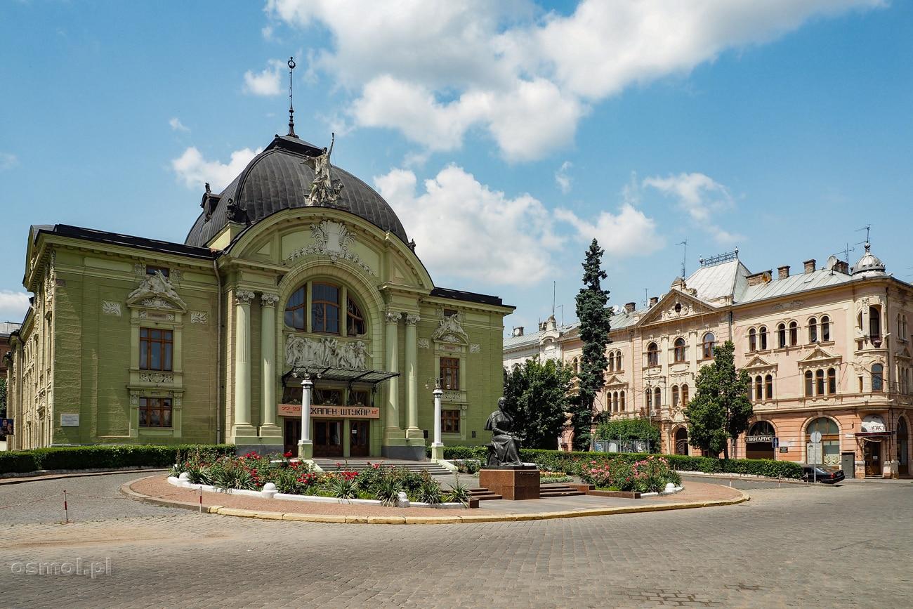 Czerniowce - Teatr Dramatyczny - jeden z najbardziej charakterystycznych i najpiękniejszych budynków miasta