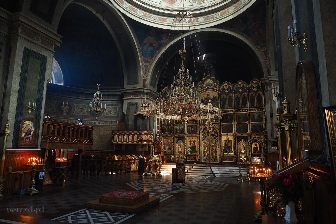 Sobór Zstąpienia Ducha Świętego. Przepiękne, klimatyczne wnętrze