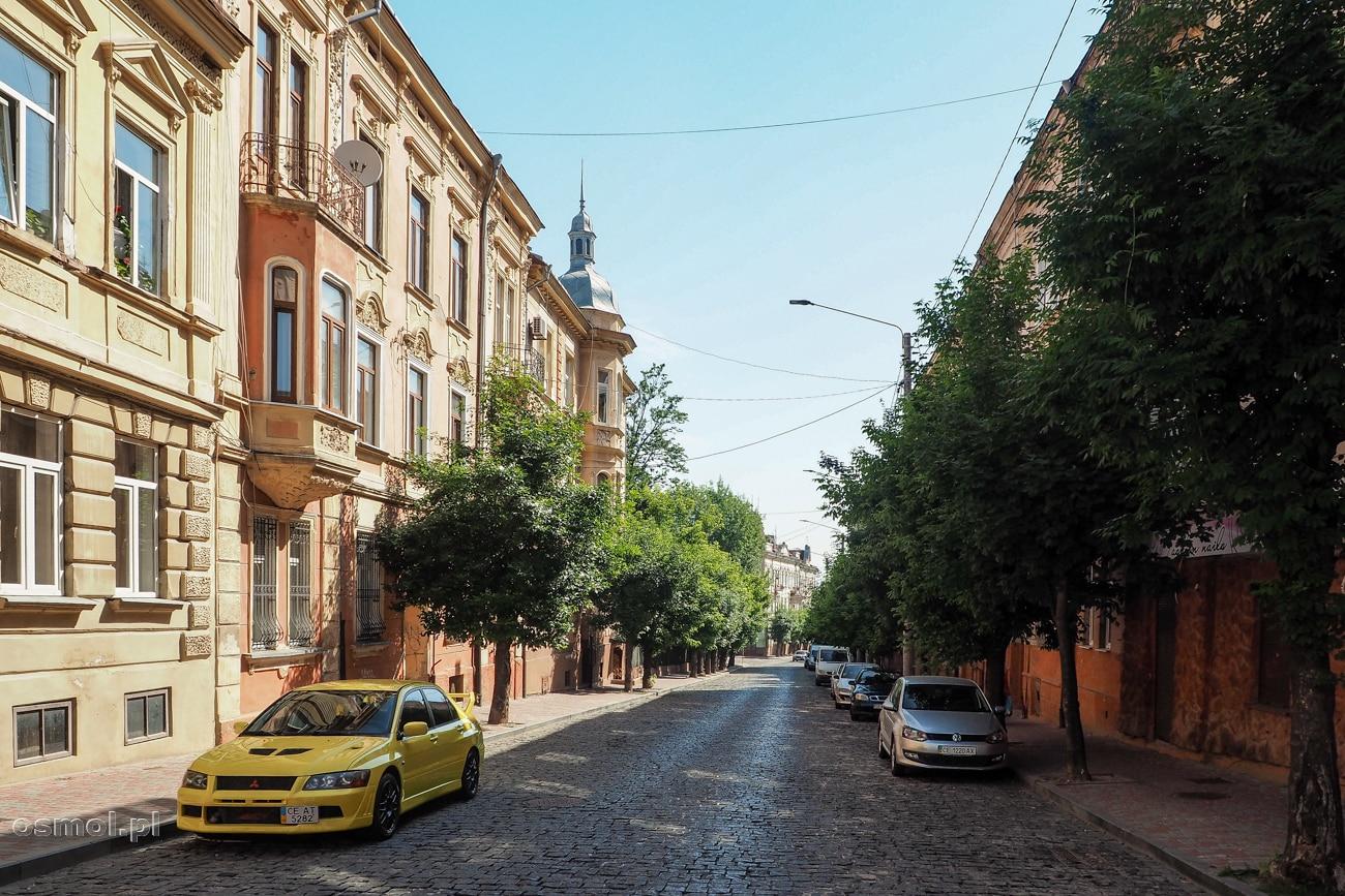 Ulica w Czerniowcach