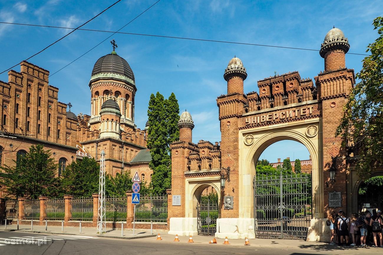Brama uniwersytetu w Czerniowcach