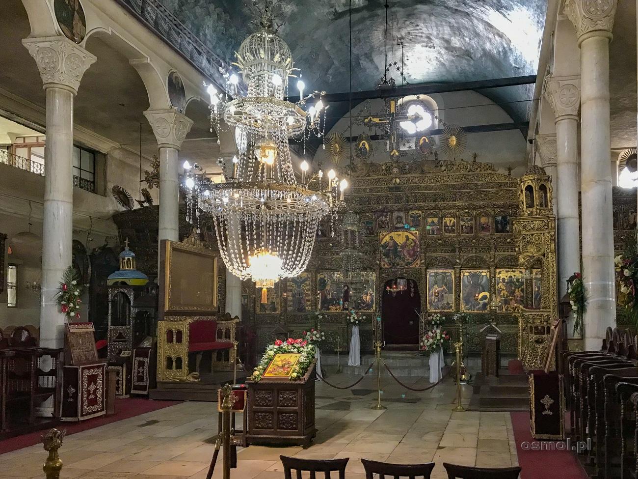 Wnętrze cerkwi świętego Dymitra