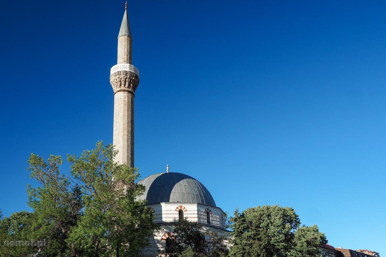 Minaret Meczetu Jeni czyli po naszemu Nowego Meczetu