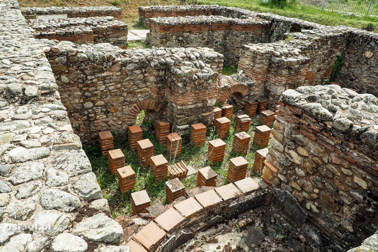Heraklea - Ruiny dawnej rzymskiej łaźni