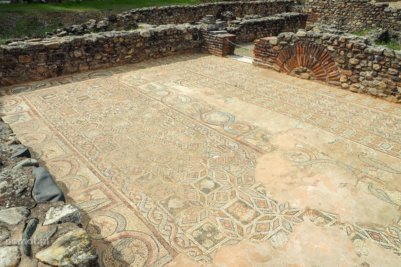 Odsłonięte mozaiki w Heraklei - Macedonia