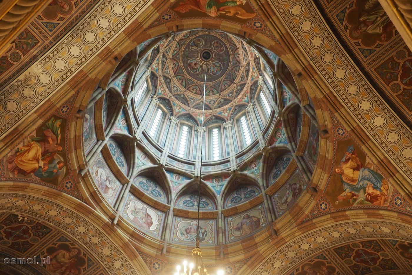 Sklepienie cerkwi Trzech Świętych Hierarchów