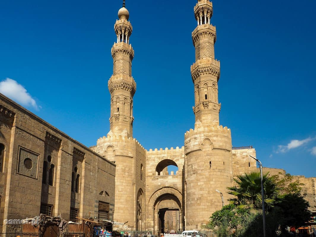 Brama Zuwayla w Kairze. Brama miejska średniowiecznego Kairu, jedna z trzech, które przetrwały do naszych czasów