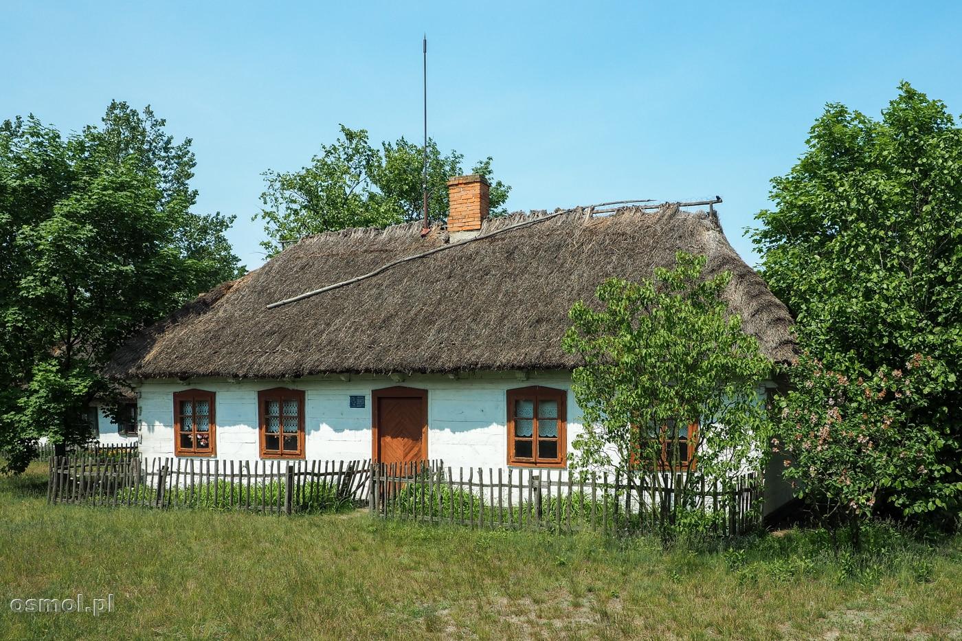 Domostwo w Skansenie wsi łowickiej w Maurzycach