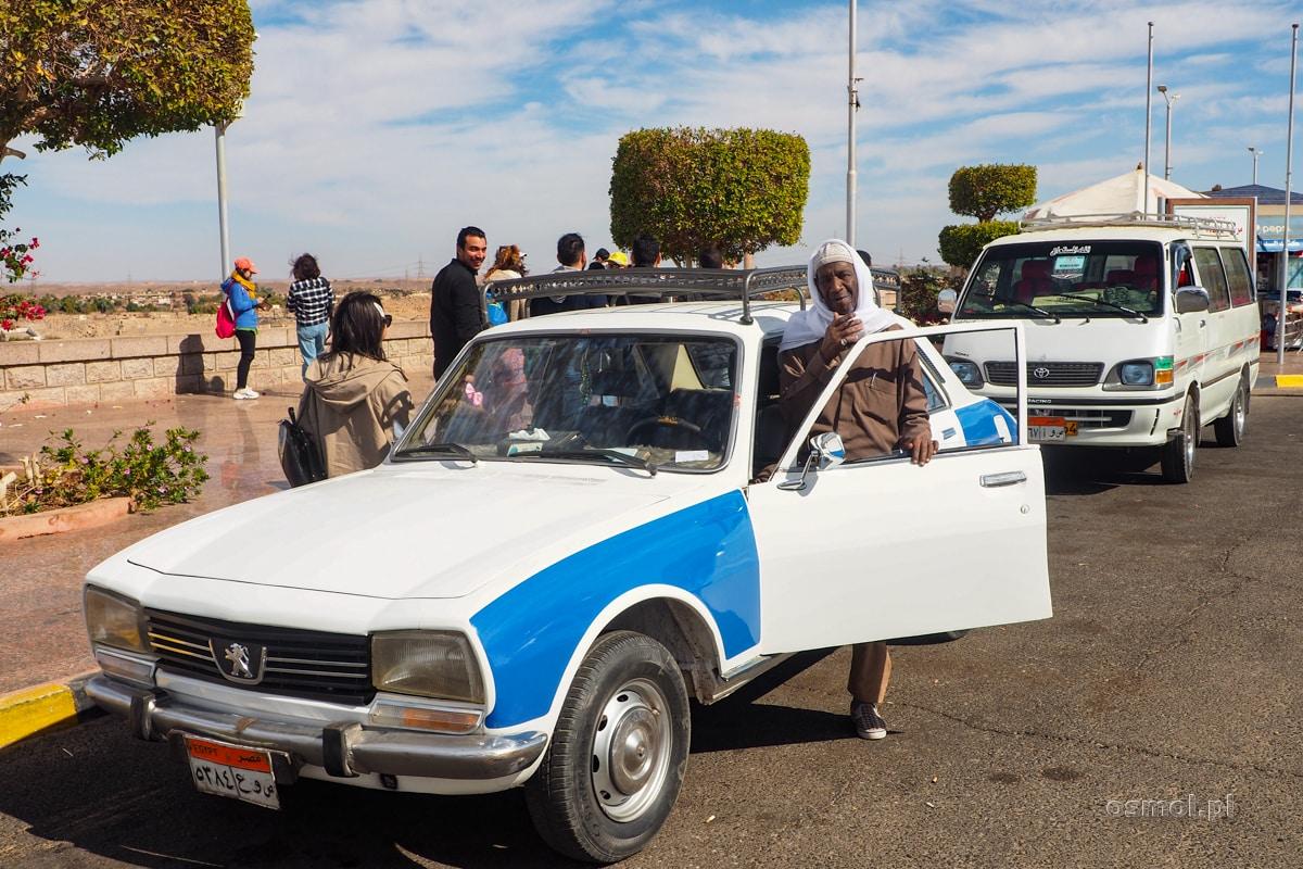 Taksówkarz w Egipcie