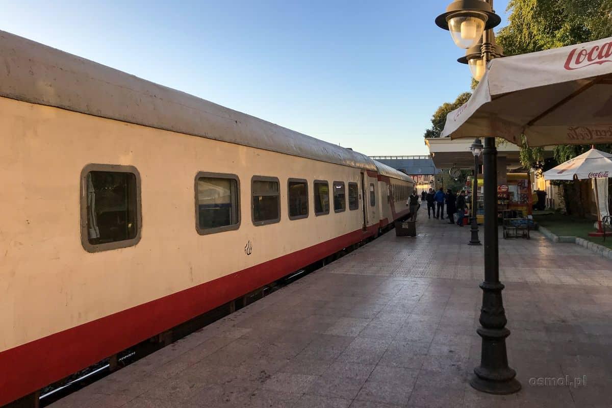 Pociąg w Egipcie
