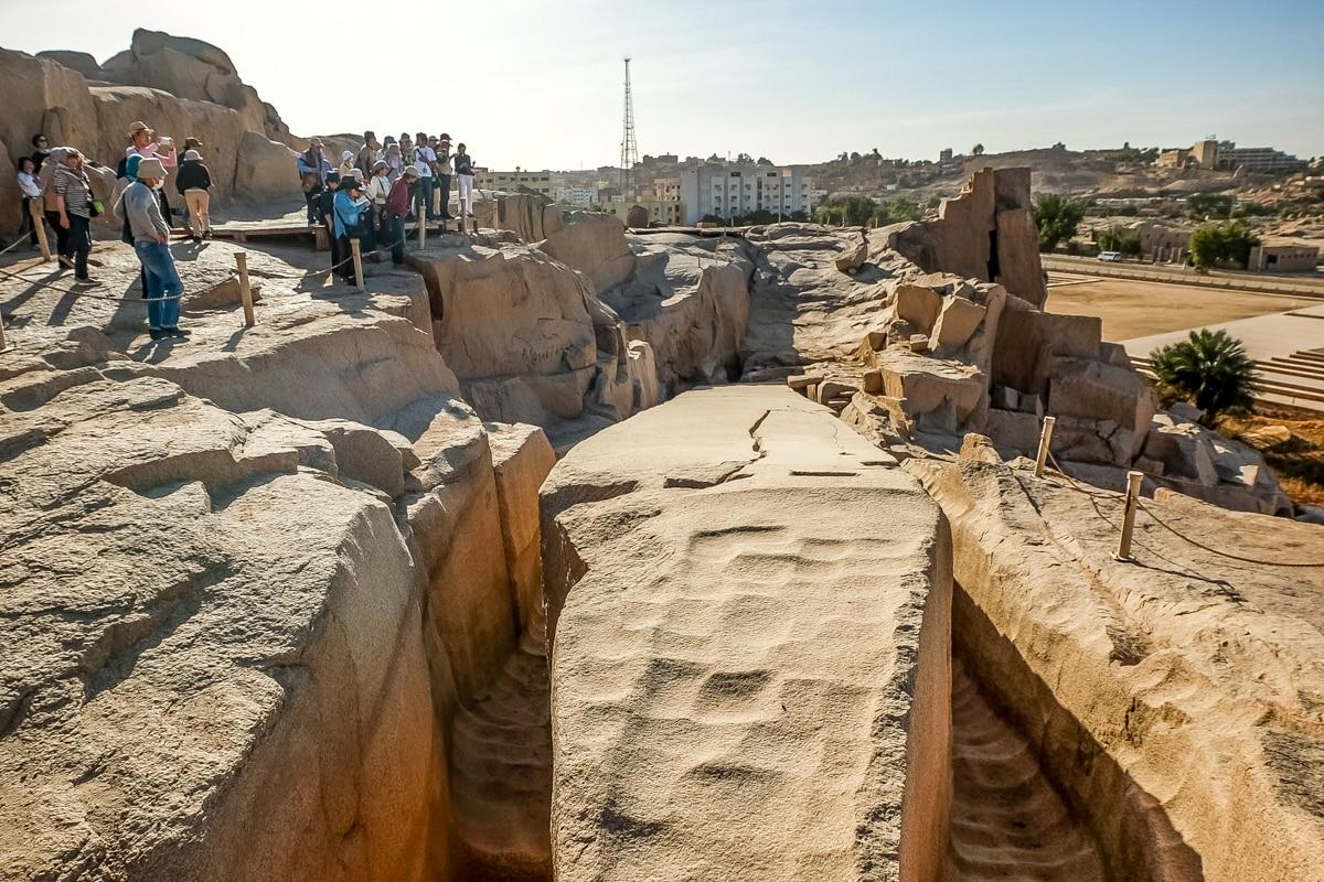 Niedokończony Obelisk w Asuanie. Fotografia: Mywanderlust.pl