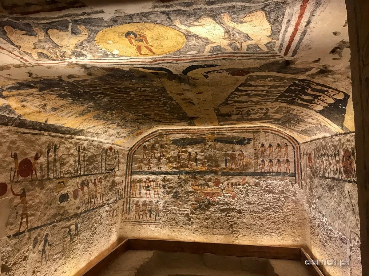 Komnata grobowa Ramzesa IX w Dolinie Królów