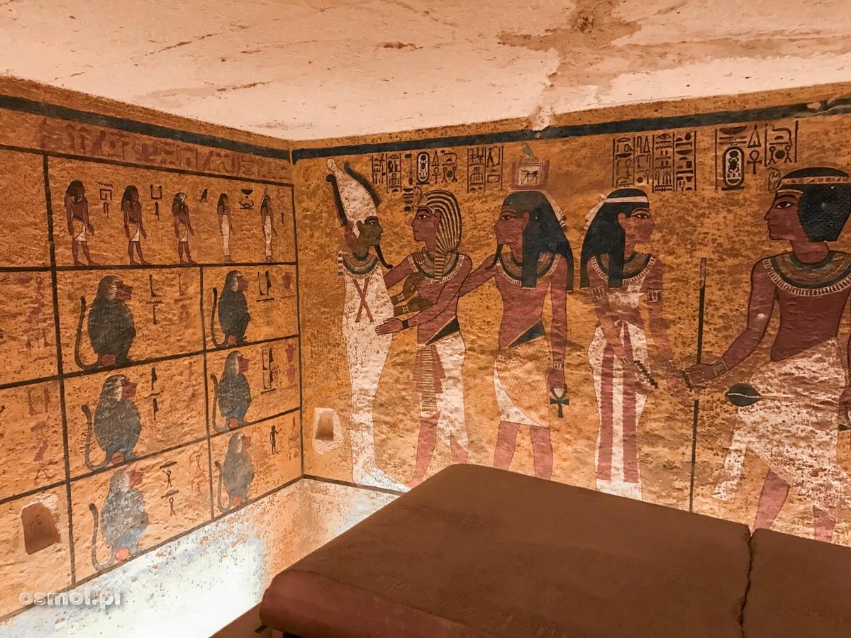 Zdobienia wnętrza grobowca Tutenchamona